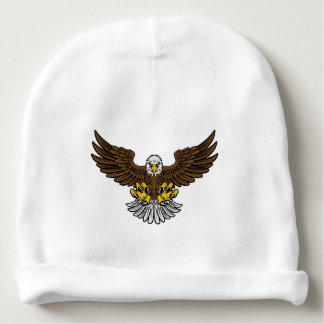 Bald Eagle Mascot Baby Beanie