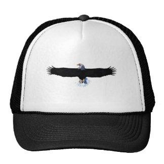 Bald eagle modification trucker hat