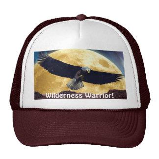 Bald Eagle & Moon Wilderness Warrior Outdoors Hat