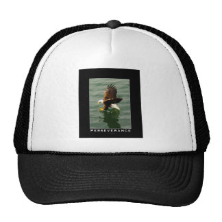 Bald Eagle Motivational Gift Trucker Hat