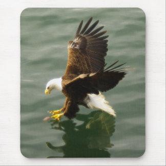 Bald Eagle Motivational Gift Mouse Mat