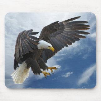 Bald eagle mouse mat
