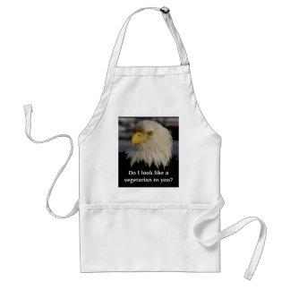 Bald Eagle ~ Not a Vegetarian Standard Apron