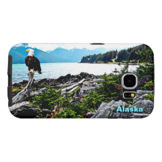 Bald Eagle On Alaska Coast Samsung Galaxy S6 Cases