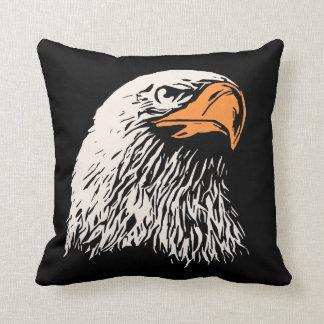 Bald Eagle Patriotic Cushion