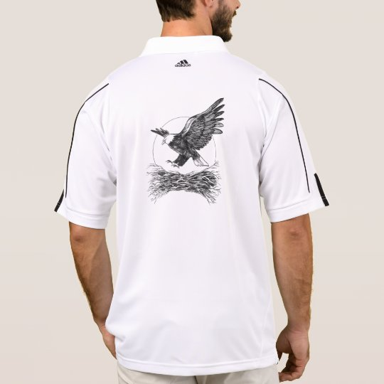 Bald Eagle polo shirt.
