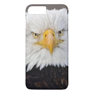 Bald Eagle Portrait, Bald Eagle in flight, iPhone 8 Plus/7 Plus Case