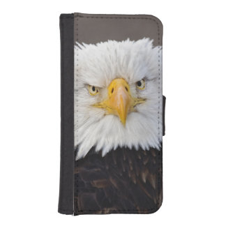 Bald Eagle Portrait, Bald Eagle in flight, iPhone SE/5/5s Wallet Case