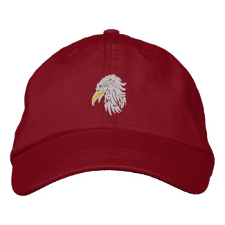 bald eagle  Proud Embroidered Hat