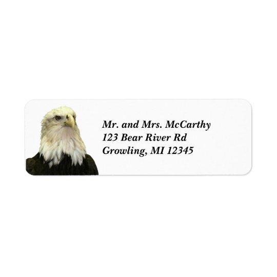 Bald Eagle Return Address Avery Label