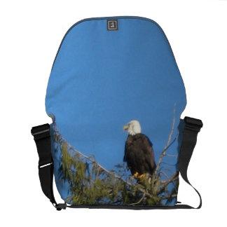 Bald Eagle Rickshaw Messenger Bag