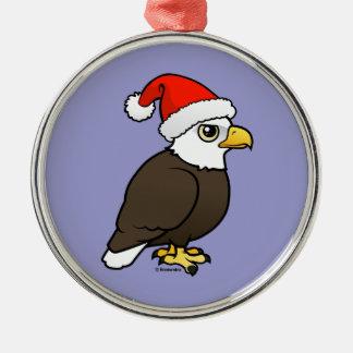 Bald Eagle Santa Christmas Ornament