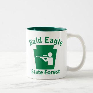 Bald Eagle SF Hunt Two-Tone Coffee Mug