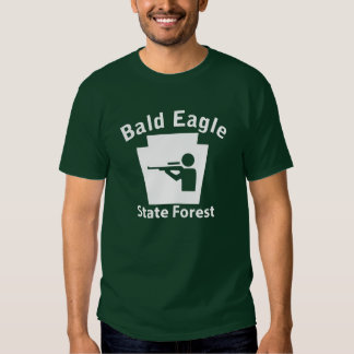 Bald Eagle SF Hunt T Shirts