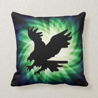 Bald Eagle Silhouette; Cool Cushion