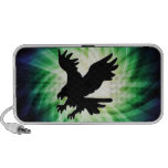 Bald Eagle Silhouette; Cool Travel Speakers