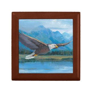 Bald Eagle Soaring Gift Box