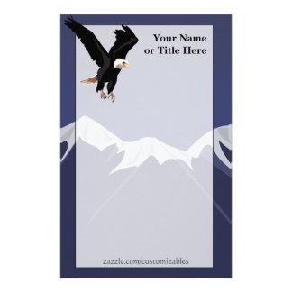 Bald Eagle Stationary Personalised Stationery