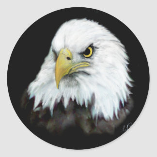 Bald Eagle Sticker 2