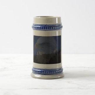 bald eagle stien coffee mug