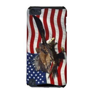 Bald Eagle US Flag Patriotic iPod Cases iPod Touch 5G Case