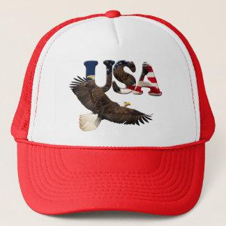 Bald Eagle & USA American Patriot Series Cap