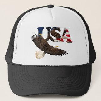 Bald Eagle & USA American Patriot Series Hat