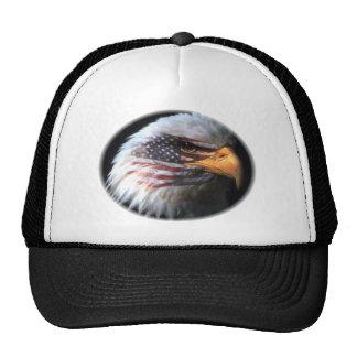 Bald Eagle - USA Flag Cap
