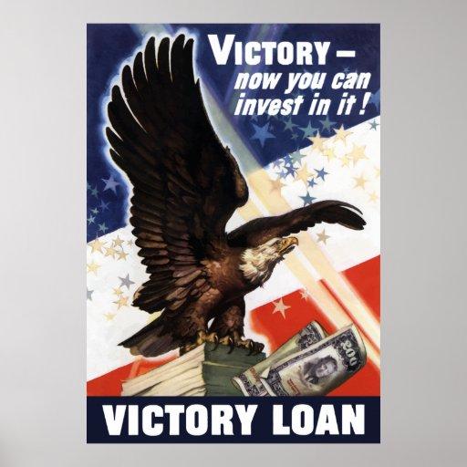 Bald Eagle -- Victory Loan Print