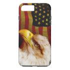 Bald eagle with flag iPhone 8 plus/7 plus case