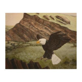 bald Eagle Wood Art