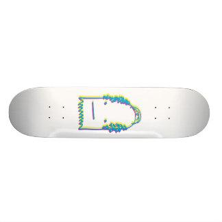 Bald Ghost (CMY) Custom Skateboard