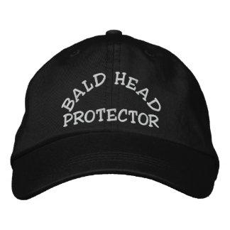 Bald Head Protector Embroidered Baseball Caps
