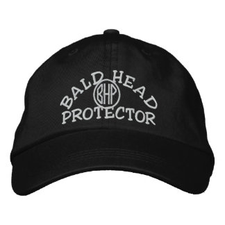 Bald Head Protector Embroidered Hats