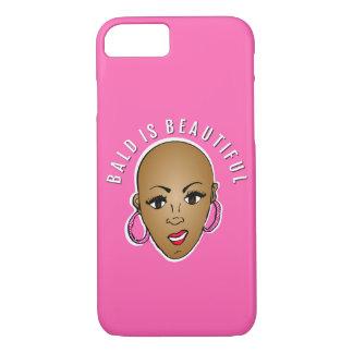 Bald is beautiful iPhone 7 case