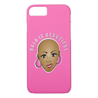 Bald is beautiful iPhone 8/7 case