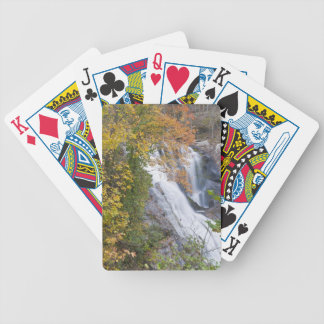 Bald River Falls Bicycle Playing Cards