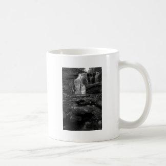 Bald River Falls bw.jpg Basic White Mug