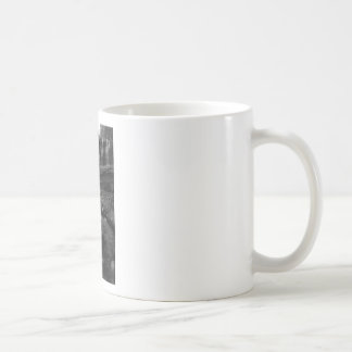 Bald River Falls bw.jpg Basic White Mug