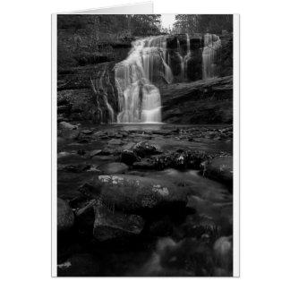 Bald River Falls bw.jpg Cards