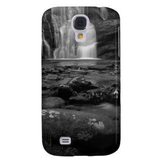 Bald River Falls bw.jpg Galaxy S4 Cases