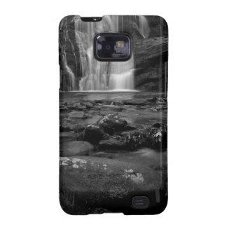 Bald River Falls bw.jpg Samsung Galaxy SII Cases