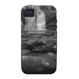 Bald River Falls bw.jpg iPhone 4 Case