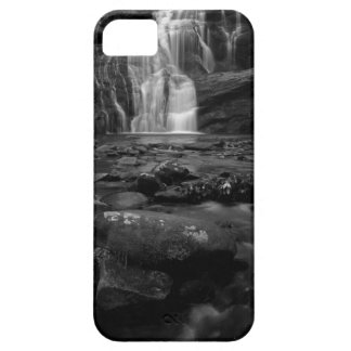 Bald River Falls bw.jpg iPhone 5 Cover