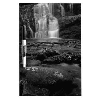 Bald River Falls bw.jpg Dry-Erase Whiteboard