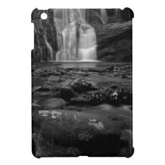 Bald River Falls bw jpg iPad Mini Cover