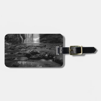 Bald River Falls bw jpg Tag For Bags