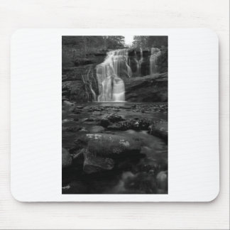 Bald River Falls bw.jpg Mouse Pad