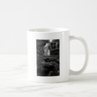 Bald River Falls bw.jpg Mug