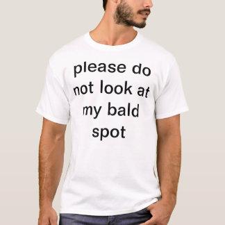 bald spot awarness month T-Shirt